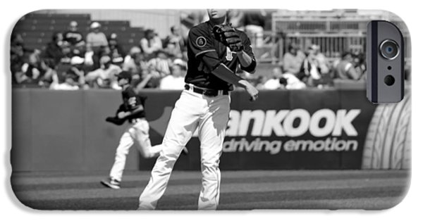 Pittsburgh Pirates iPhone Cases - Neil Walker of the Pittsburgh Pirates iPhone Case by Mountain Dreams