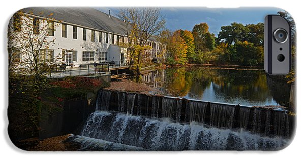 Charles River iPhone Cases - New England Autumn Day iPhone Case by Toby McGuire