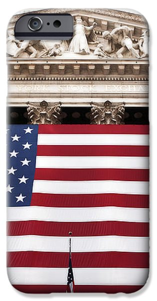 New York Stock Exchange iPhone Case by John Rizzuto
