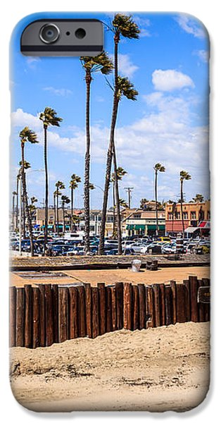 Newport Beach Dory Fishing Fleet Market iPhone Case by Paul Velgos