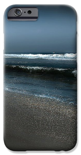 Night Beach  iPhone Case by Artist and Photographer Laura Wrede