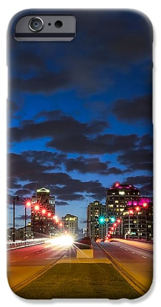 Night Lights iPhone Case by Debra and Dave Vanderlaan