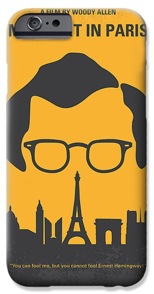 Stein iPhone Cases - No146 My Manhattan minimal movie poster iPhone Case by Chungkong Art