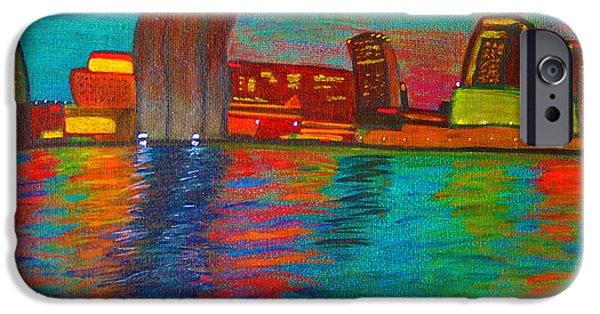 Boat iPhone Cases - Nola by Natchez iPhone Case by Vonda Adomatis