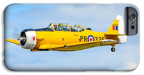 Usn iPhone Cases - North American Texan SNJ-5  iPhone Case by Puget  Exposure