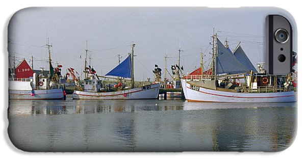 North Sea iPhone Cases - North Sea Fishing iPhone Case by Jan Faul