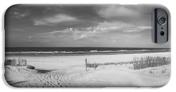 North Sea iPhone Cases - North Sea Panorama iPhone Case by Mountain Dreams