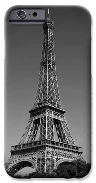 Not a Cloud In Paris iPhone Case by Kamil Swiatek