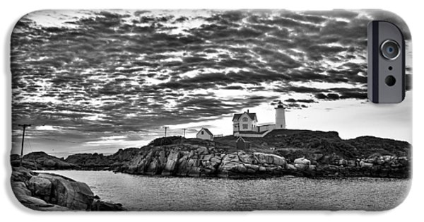 Nubble Lighthouse iPhone Cases - Nubble Lighthouse - Maine iPhone Case by Steven Ralser