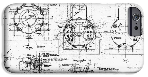 Component iPhone Cases - Nuclear Power Plant Components, Diagram iPhone Case by Library Of Congress