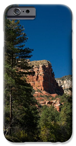 Oak Creek iPhone Cases - Oak Creek Canyon Red Rock Area 1 iPhone Case by Douglas Barnett
