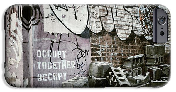 Occupy iPhone Cases - Occupy Together Occupy iPhone Case by Natasha Marco