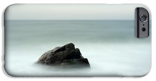 Steadfast iPhone Cases - Ocean Boulder iPhone Case by John Greim