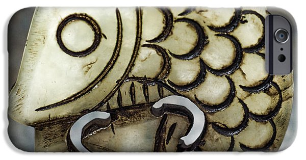 Animals Jewelry iPhone Cases - Ode to the Bead 2 iPhone Case by Jackie Langley