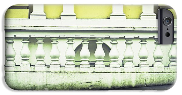 Lichens iPhone Cases - Old architecture iPhone Case by Tom Gowanlock