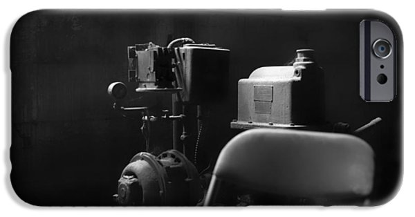 Compressor iPhone Cases - Old Engine iPhone Case by Mountain Dreams