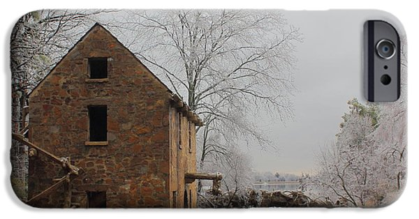 Arkansas iPhone Cases - Old Mill iPhone Case by Karen Beasley