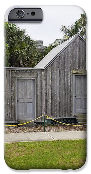 Old Post Office in Melbourne Beach iPhone Case by Allan  Hughes