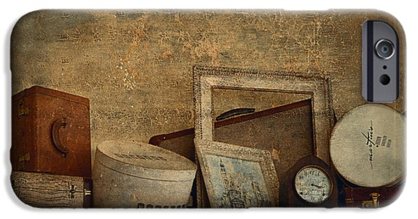 Interior Still Life iPhone Cases - Old Things  iPhone Case by Maria Angelica Maira