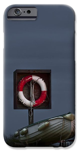 Sailing iPhone Cases - On a Watch iPhone Case by Svetlana Sewell