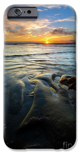 Oregon Coast iPhone Cases - On the Horizon iPhone Case by Mike  Dawson