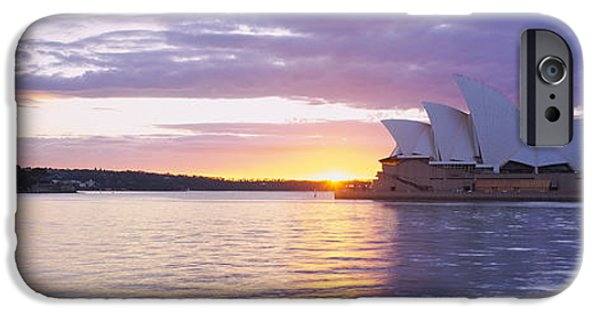 White House iPhone Cases - Opera House At The Waterfront, Sydney iPhone Case by Panoramic Images