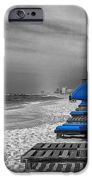 Orange Beach in Alabama iPhone Case by Mountain Dreams