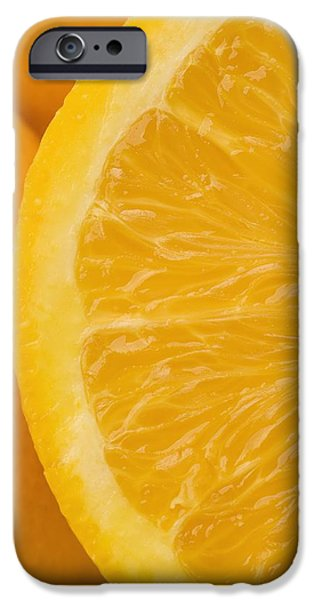 Orange iPhone Cases - Oranges iPhone Case by Darren Greenwood