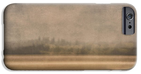 Field iPhone Cases - Oregon Rain iPhone Case by Carol Leigh