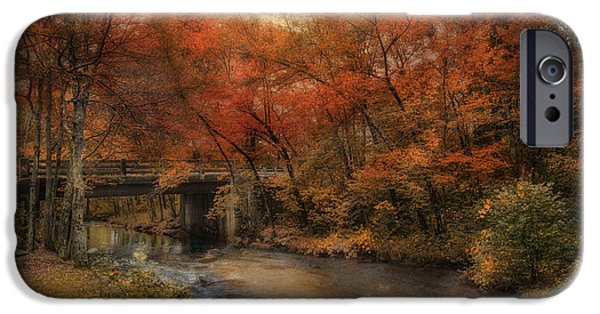 Blackstone River iPhone Cases - Over the River iPhone Case by Robin-lee Vieira