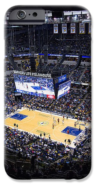 Pacers Indiana iPhone Case by David Haskett