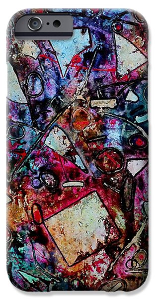 Original Acrylic iPhone Cases - Palimpsest  iPhone Case by John  Nolan