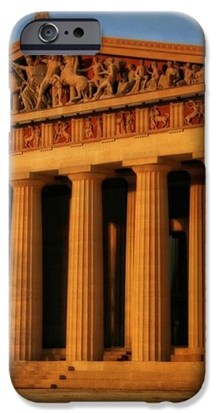 Parthenon iPhone Case by Dan Sproul