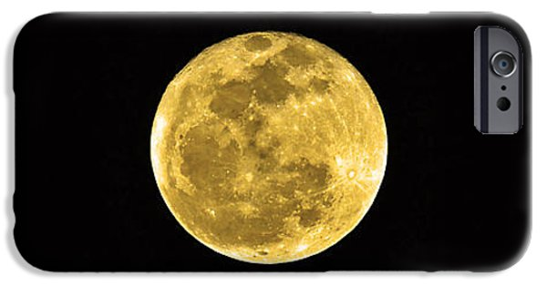 Moonscape iPhone Cases - Passover Full Moon iPhone Case by Al Powell Photography USA