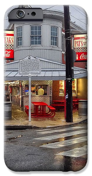 Pat's Steaks iPhone Case by JACK PAOLINI