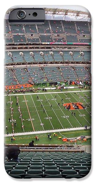 Paul Brown Stadium iPhone Case by Dan Sproul