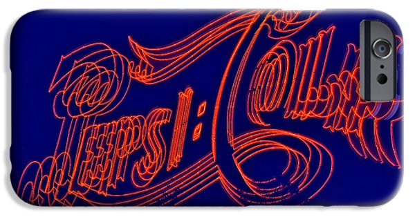 New Generations iPhone Cases - Pepsi Cola iPhone Case by Susan Candelario