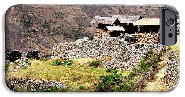 Historic Site iPhone Cases - Peru Pisac iPhone Case by Ted Pollard