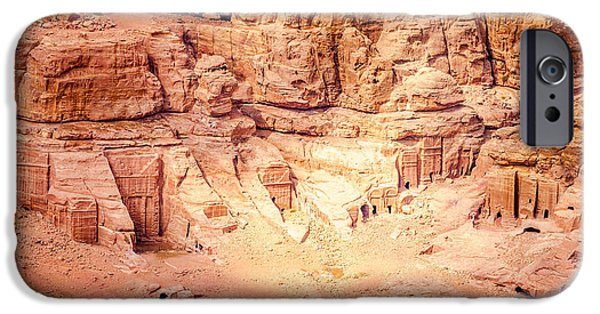 Jordan iPhone Cases - Petra iPhone Case by Alexey Stiop