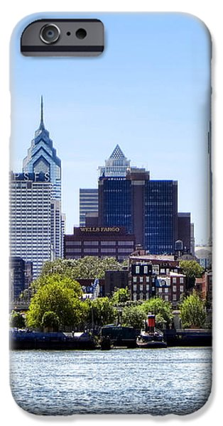 Philadelphia iPhone Case by Olivier Le Queinec