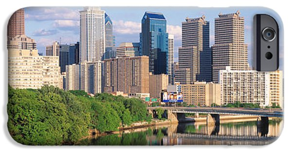 Schuylkill iPhone Cases - Philadelphia Pa iPhone Case by Panoramic Images
