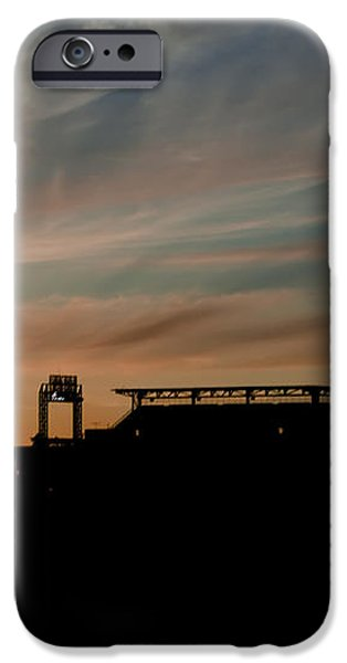 Phillies Stadium at Dawn iPhone Case by Bill Cannon