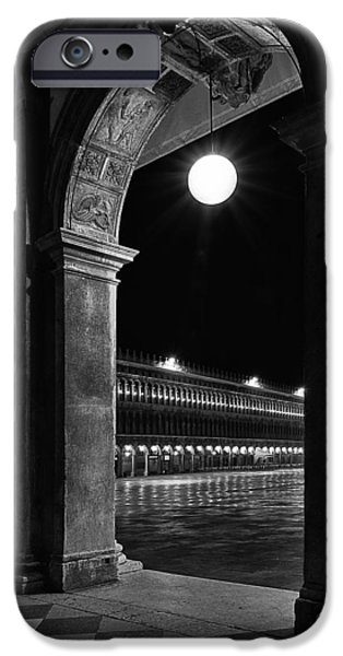 Piazza San Marco iPhone Cases - Piazza San Marco 2 iPhone Case by Marion Galt