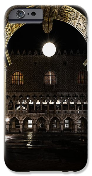 Piazza San Marco iPhone Cases - Piazza San Marco iPhone Case by Marion Galt