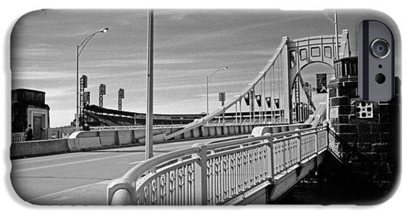 Roberto iPhone Cases - Pittsburgh - Roberto Clemente Bridge iPhone Case by Frank Romeo