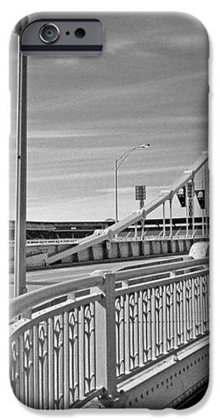 Pittsburgh - Roberto Clemente Bridge iPhone Case by Frank Romeo