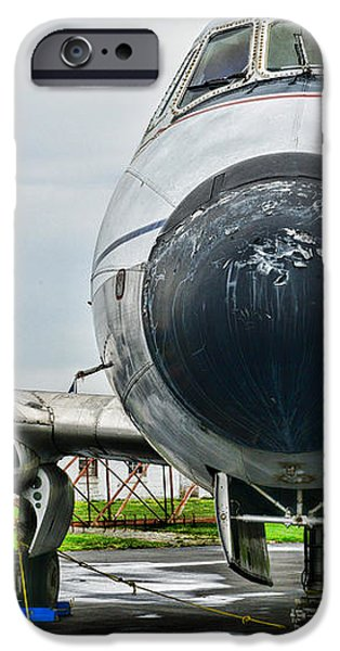 Plane Noses Up iPhone Case by Paul Ward