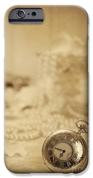 Pocket Watch iPhone Case by Amanda And Christopher Elwell