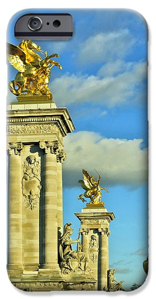 Pont Alexandre III iPhone Case by Mountain Dreams