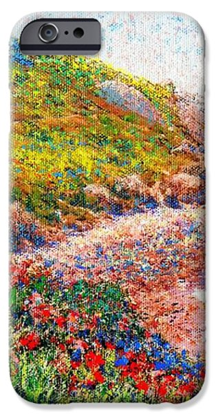 Enchanted by Poppies iPhone Case by Jane Small